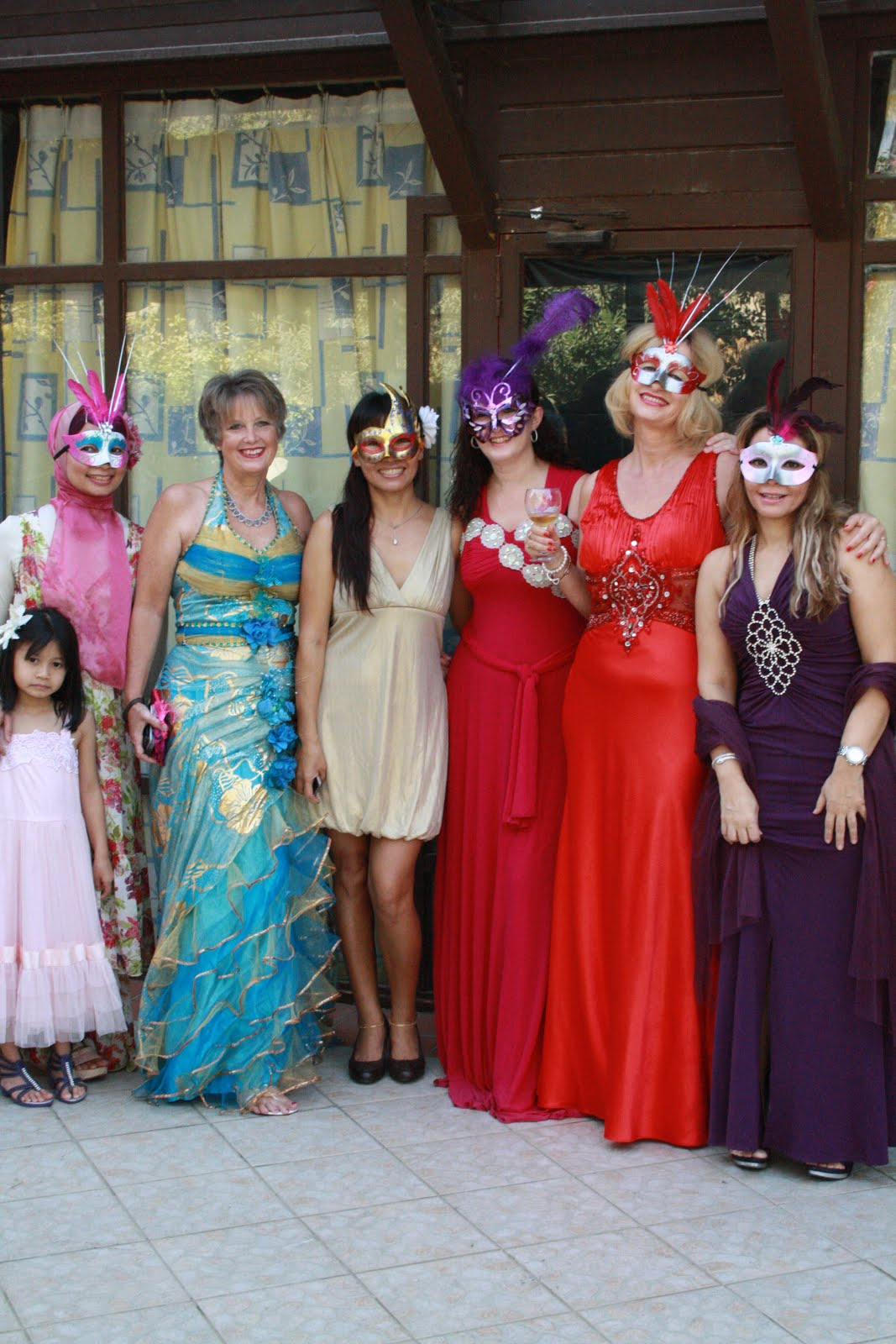 Ladies Morning Coffee Masquerade Ball