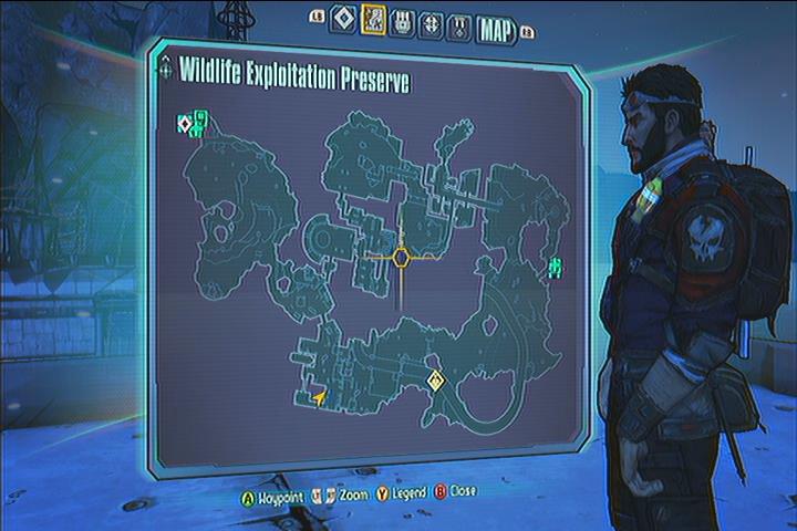 Wildlife Exploration Preserve Vault Symbols Borderlands 2