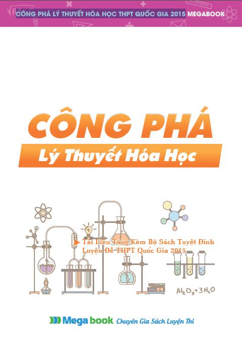 Home hoa-hoc Công phá lý thuyết hóa học THPT Quốc Gia 2015