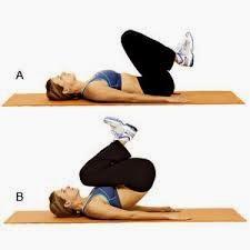 Ejercicio para reducir y tonificar el abdomen para principiantes