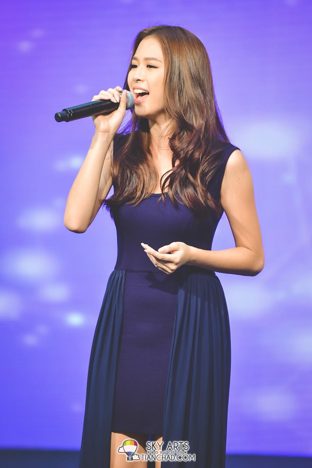 6号钟欣燕稳健的演唱《我的骄傲 》让现场观众见识她美貌以外的另一面