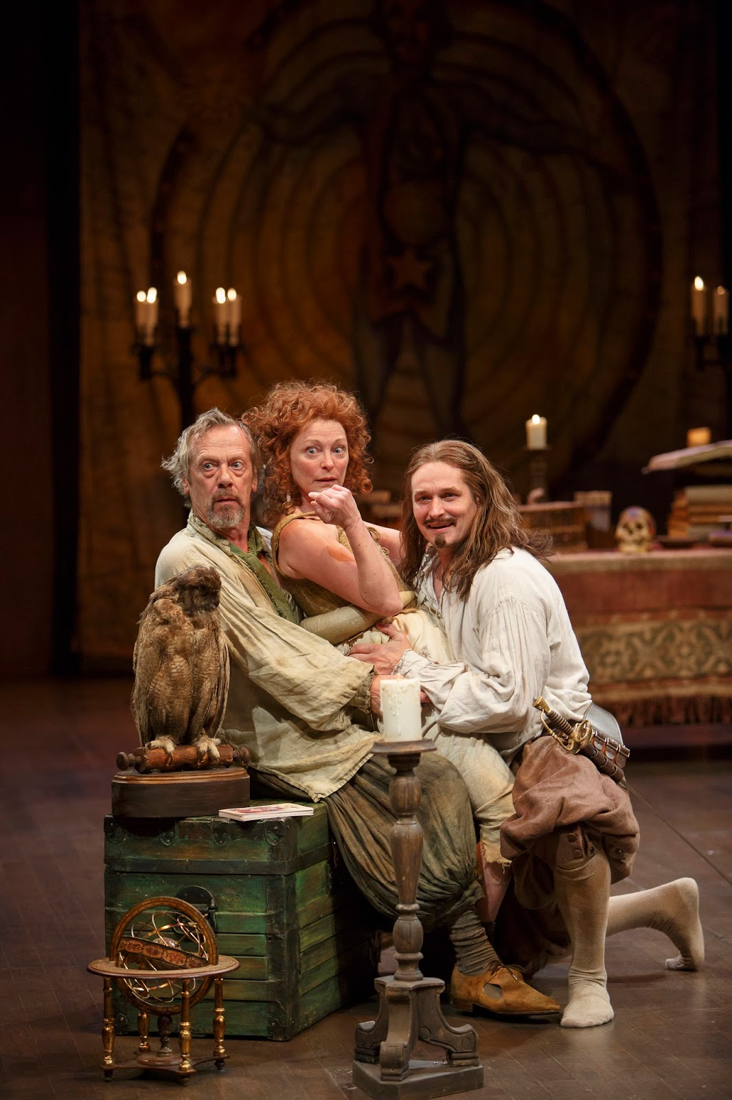 james karas reviews and views the alchemist review of from left stephen ouimette as subtle brigit wilson as dol common and jonathan goad as face photography by david hou the world of the alchemist