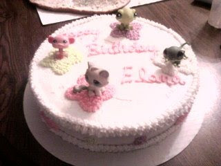 Little Pet Shop birthday cake