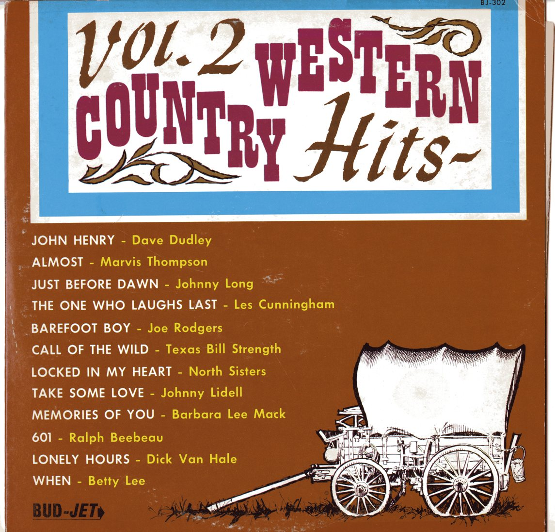 Some Local Loser: Bud-Jet Country Western Hits Vols. I, II ...