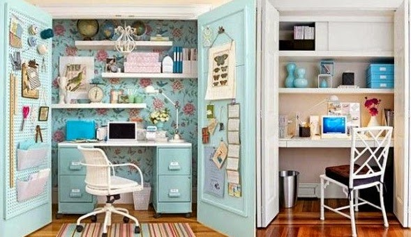 Crea espacios de trabajo en tu casa