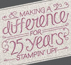 Stampin' Up!'s 25th Anniversary