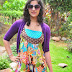 Beautiful Actress Nishanti Evani in Colorful Dress