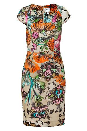 Multicolor Francesca Work Dress