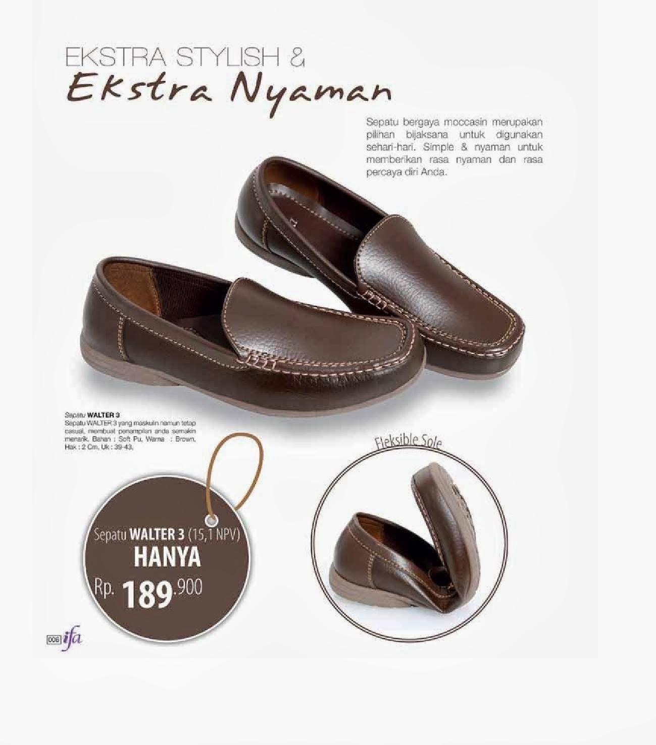Koleksi Sepatu Pria ...MURAH !! Sepatu Walter 3 73ddecaef9