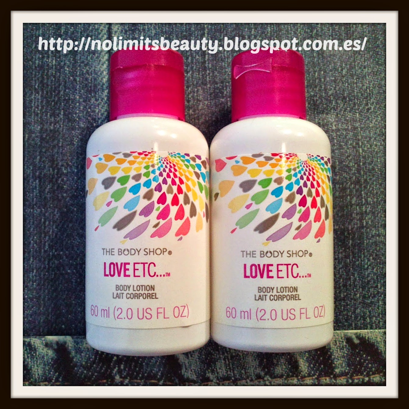 Body Lotion Love ETC - The Body Shop