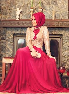 gaun muslimah turki