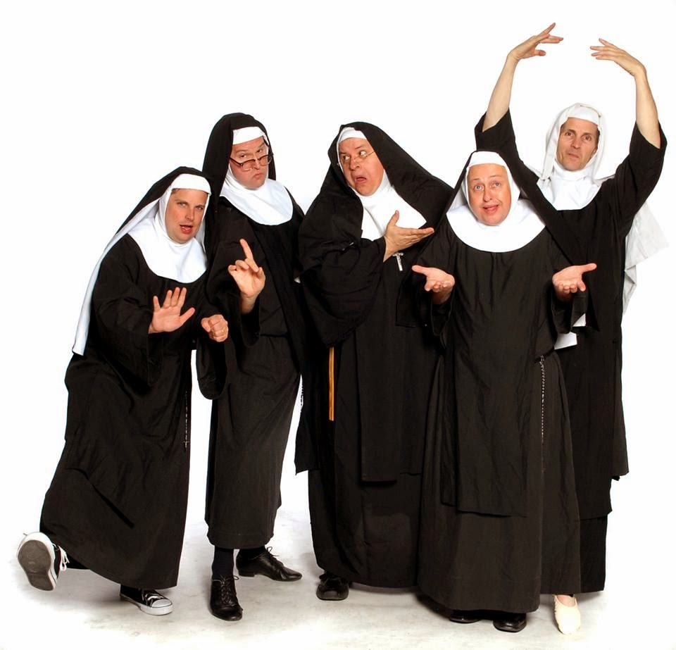 NUNSENSE A-MEN! Playing July 11 – August 17, 2014 at the West Sacramento Community Center Black Box Theatre