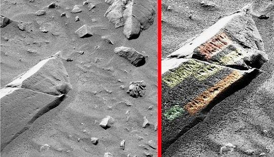 escrituras en Marte