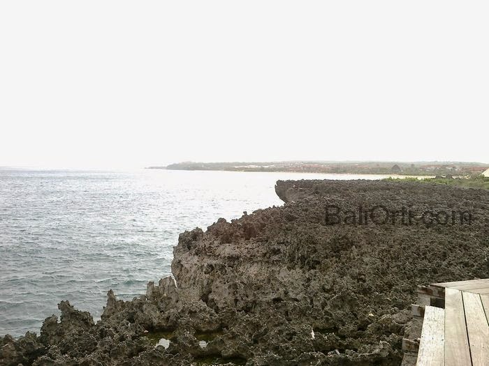 Cluster of rocks in the attraction of Water Blow , Nusa Dua , Bali Indonesia