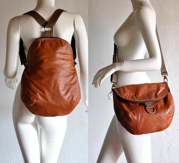 Кожаный рюкзак своими руками