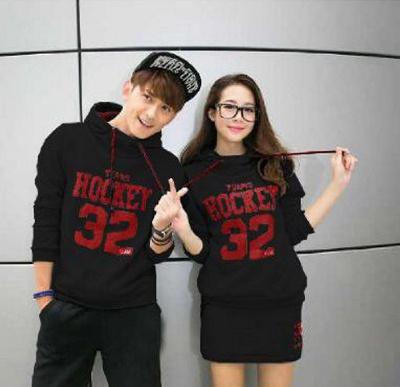 Jual Jumper Hockey SS Hitam Couple Online Murah di Jakarta Trendy