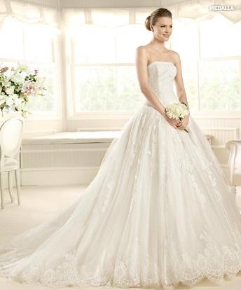una novia diferente: vestidos de novia románticos en lasposa 2013