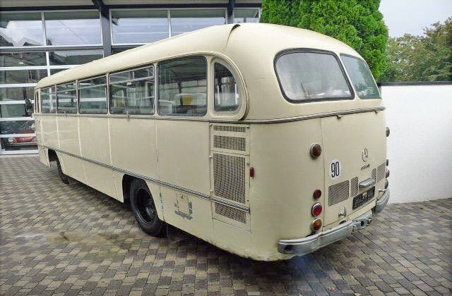 1963 mercedes benz o321h auto restorationice for Mercedes benz charter bus