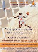 Τμήματα Υποδομής Μπάσκετ Εθνικός Λάρισας