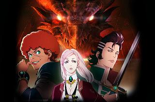 Manga: anime para Rage of Bahamut (神撃のバハムート), Shingeki no Bahamut - Genesis.