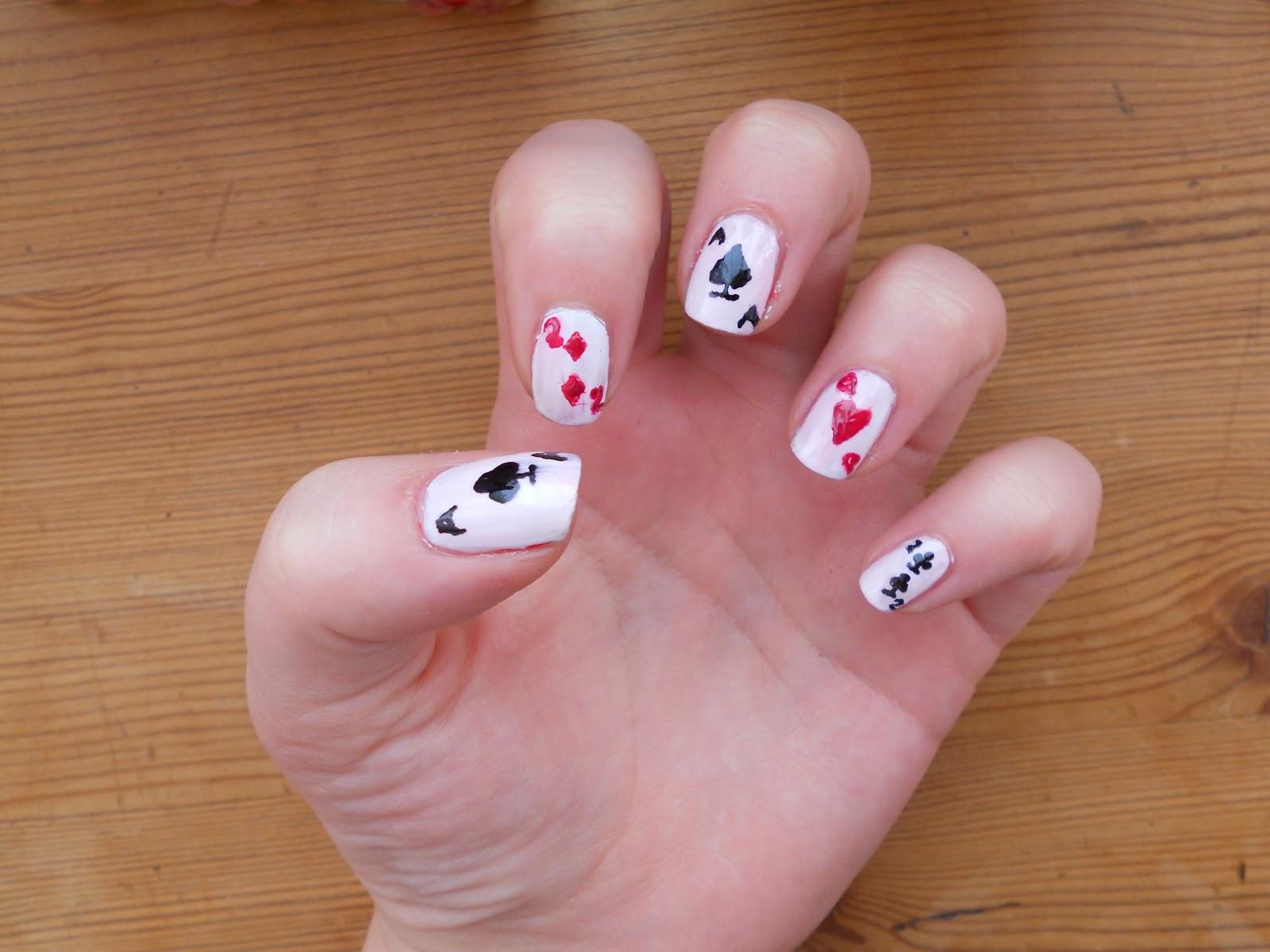 cards nail art