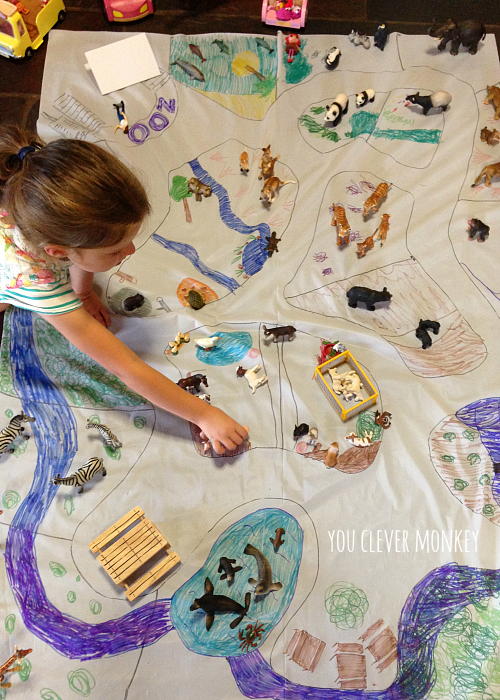 Design Your Own Zoo Playmat | you clever monkey