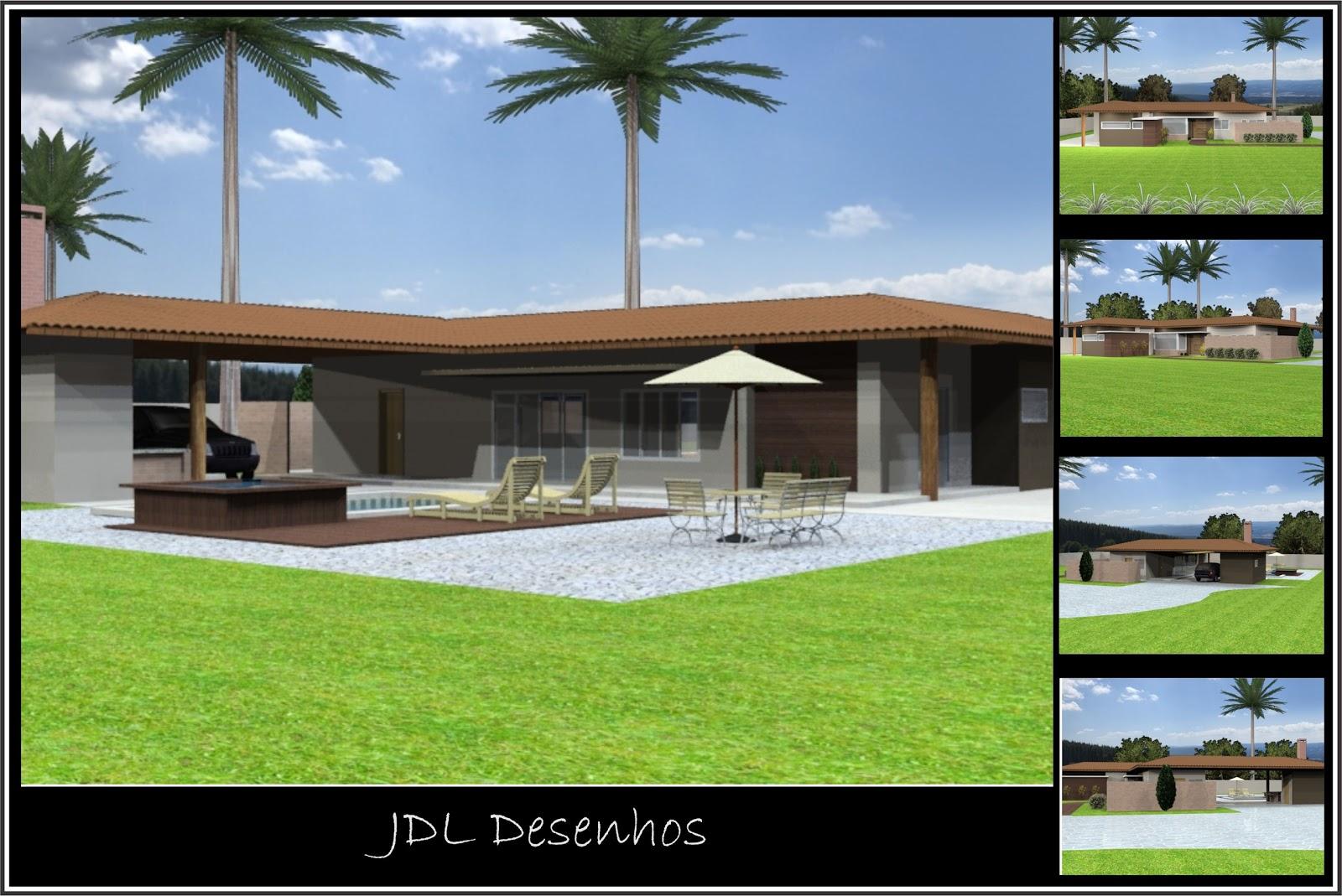 Jdl Desenhos: Casa Projeto Edilson Reis #739932 1600 1069