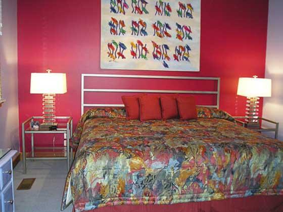 Choix jeux de couleurs chambre coucher design interieur france - Choix couleur chambre ...