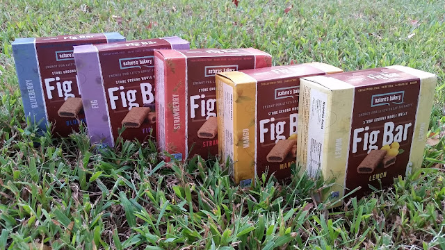 Nature's Bakery fig bar boxes