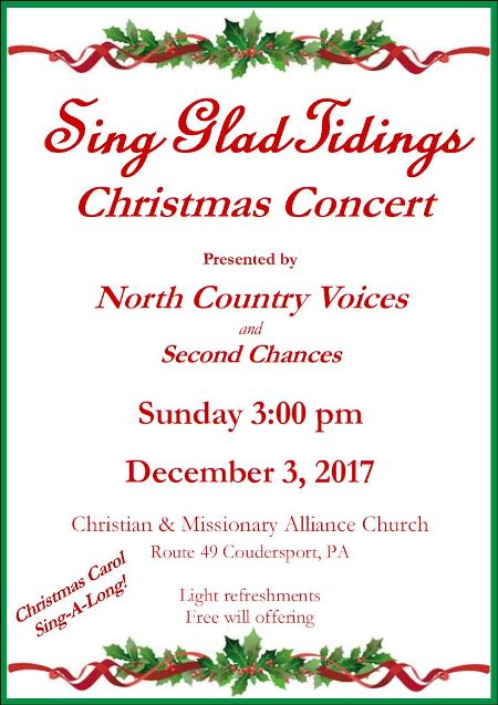 12-3 Sing Glad Tidings Christmas Concert