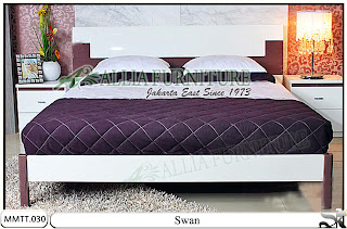 Tempat Tidur Minimalis Modern Terbaru Swan 160 X 200
