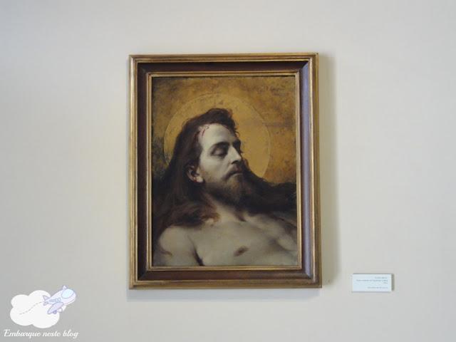Obra Cristo Morto, Museu Casa Pedro Américo. Areia, PB