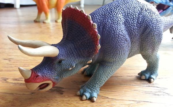 Dinosaures tricératops Ravensburger