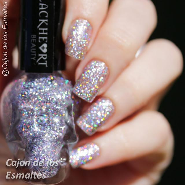 Blackheart - Glitter holográfico