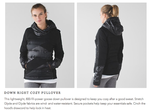 lululemon down-right-cozy-pullover