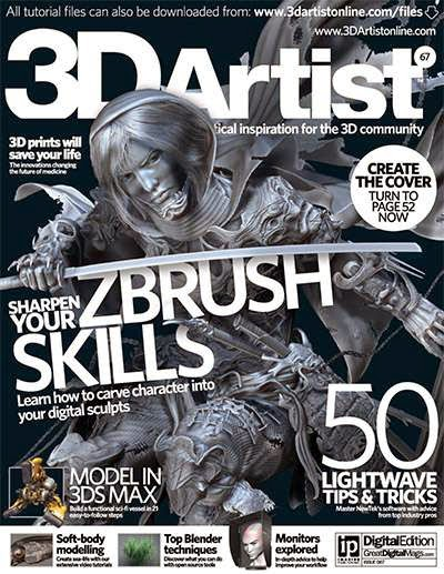 3D Artist Magazine Issue 67 2014
