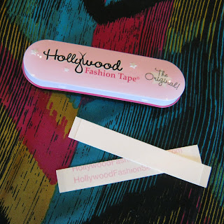 Hollywood Fashion Tape, the absolute best fashion tape for fixing wardrobe emergencies before they turn into wardrobe malfunctions!