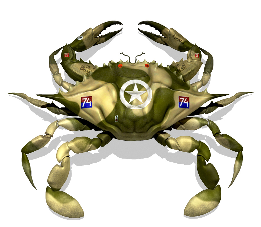 Eric Keller\'s Portfolio: Crab army