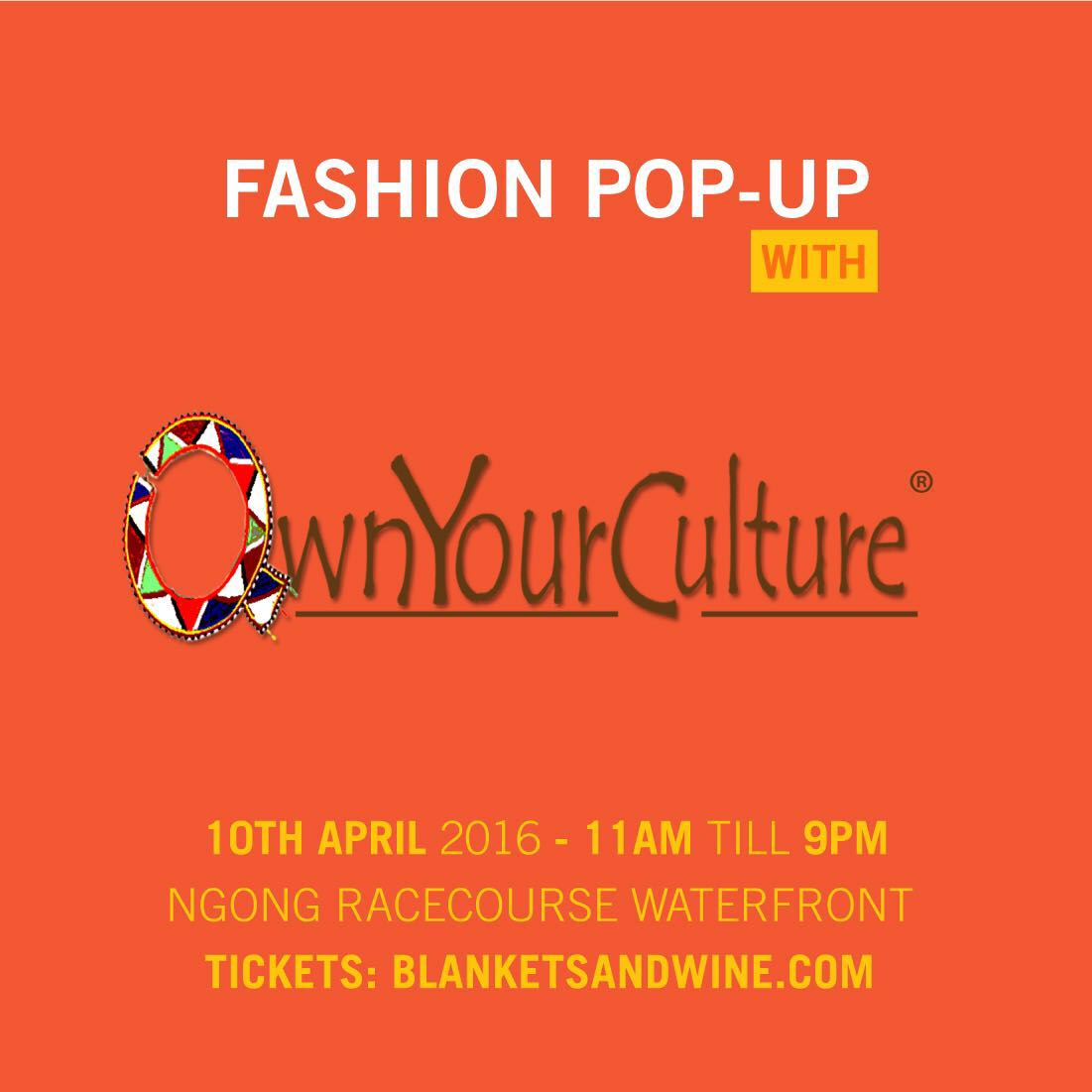 #OwnYourCulture for Blankets&Wine
