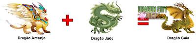 Dragão Gaia - Cruzamento