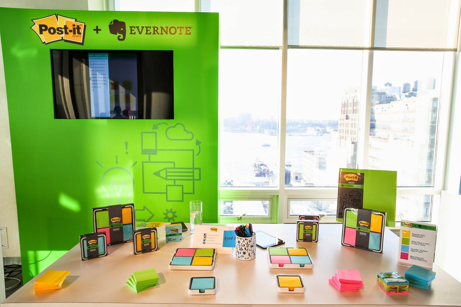 Post-it Brand Go Ahead Explore Collection - Evernote