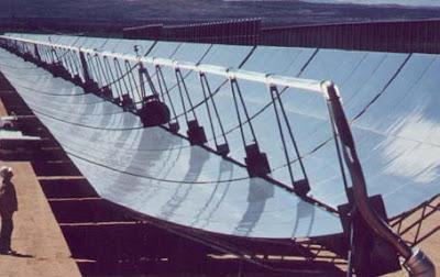 تكنولوجيا الطاقة الشمسية المركزة