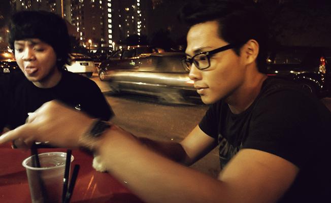 Noh Hafizri Ismail Mohd Zulkhalid Afandi Burger bakar wangsa maju