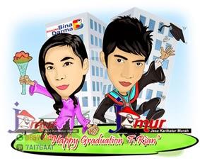 Jasa Karikatur Murah Pringsewu