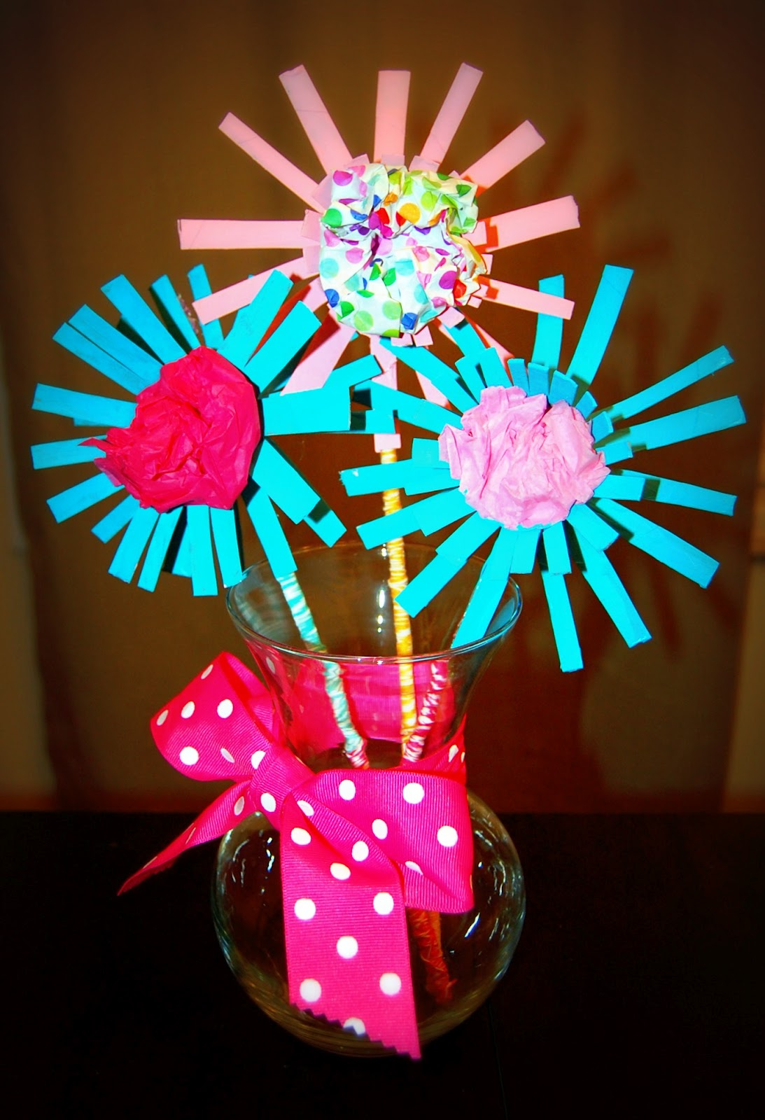 Toilet Paper Tube Flowers An Earth Day Project