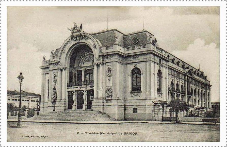 The Municipal Theater Saigon - Ho Chi Minh