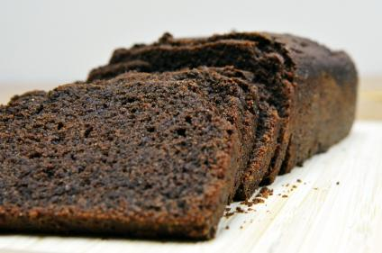 Chocolate Sour Cream Quinoa Quick Bread and 25 Quinoa Dessert Recipes - MyNaturalFamily.com #quinoa #recipe