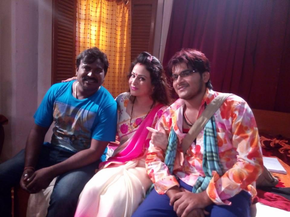 Pakhi Hegde & Arvind Akela 'Kallu' in together Balma Bihar Wala 2