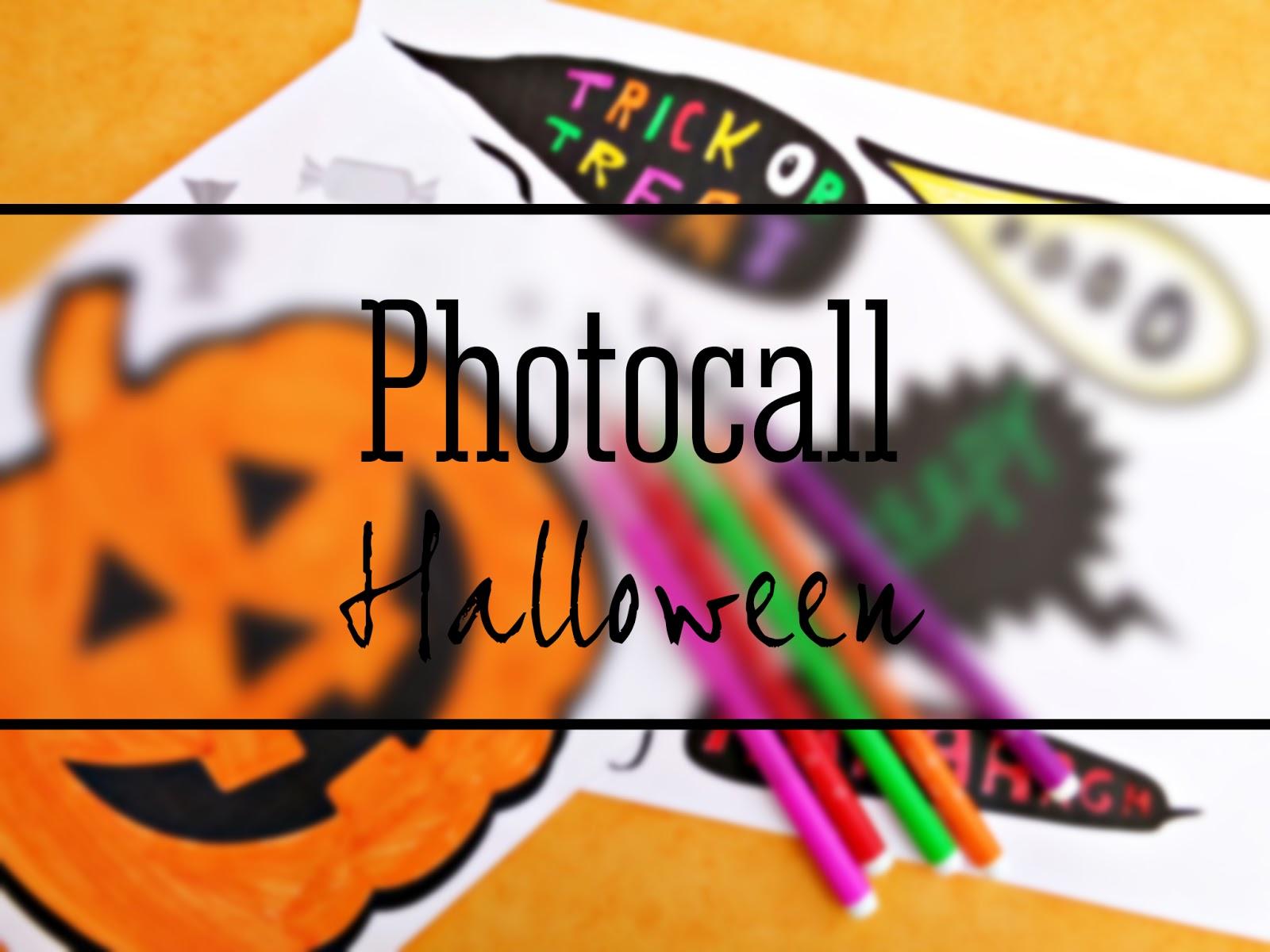 Preparamos un Photocall para Halloween