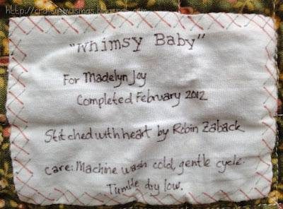Whimsy, label